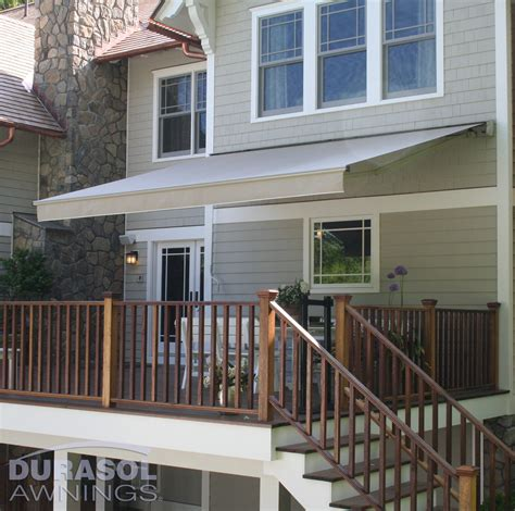 retractable awnings outdoor living spaces eau claire wi asher