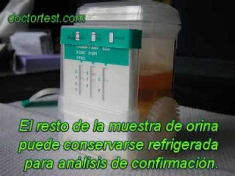 test antidoping test de drogas en orina en vaso perfecto para empresas