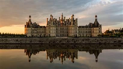 Castle Palace River 4k Background Uhd Loire