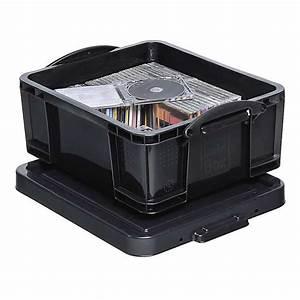 Aufbewahrungsboxen Kunststoff Mit Deckel : aufbewahrungsbox mit deckel volumen 9 bis 84 l kunststoff schwarz ~ Frokenaadalensverden.com Haus und Dekorationen