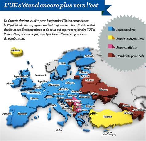 Carte De L Union Européenne En Anglais by Carte L Union Europ 233 Enne S 233 Tend Encore Plus Vers L Est