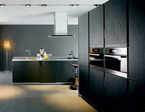 modern black kitchen design black kitchen cabinets photo gallery best kitchen places 7581