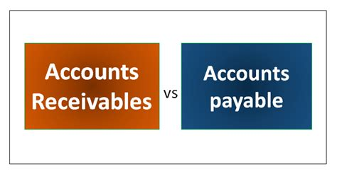 accounts receivable  accounts payable top  differences