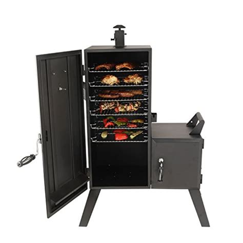 smoker glo dyna vertical offset charcoal box smokers grill bbq barbecue amazon guide under buying