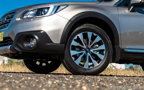 subaru outback rims 2016 subaru outback 3 6r review video performancedrive