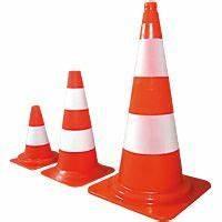 Cone De Chantier : c ne de signalisation orange et blanc k5a ~ Edinachiropracticcenter.com Idées de Décoration