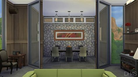 dhs modern classic livingroom sims  downloads