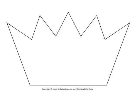 crown template crown template printable 1