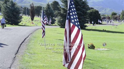 America The Beautiful Piano Arrangement By Monica Scott
