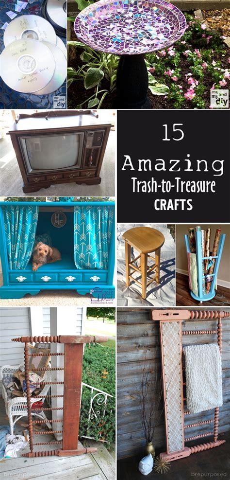trash to treasure projects 15 amazing trash to treasure crafts