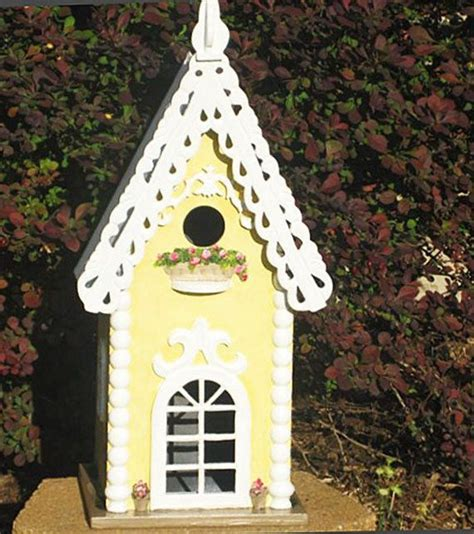 Beautiful Painted Bird Houses