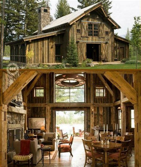 Small Barns To Live In by 20 Cozy Barn Homes You Wish You Could Live In
