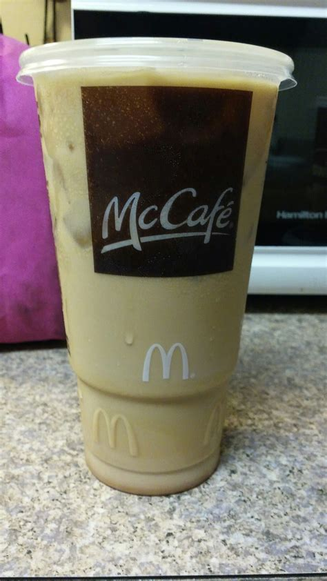 Mcdonald's is a large international company. National Coffee Day got a Free large pumpkin spice iced coffee from McDonalds. ( with coupon ...