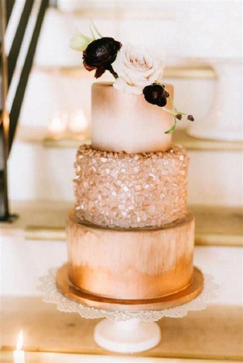 Copper Wedding Cake Autumn Trends | Wedding cake trends ...