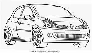 disegno renault clio rs categoria mezzi trasporto da colorare With renault clio rs