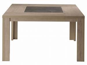 Table 140 Cm : table carr e 140 cm brest nature coloris ch ne clair chez conforama ~ Teatrodelosmanantiales.com Idées de Décoration