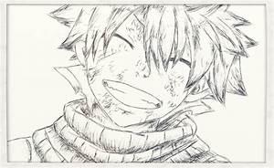 Fairy Tail - Natsu Smile by SouzouRinkan on DeviantArt