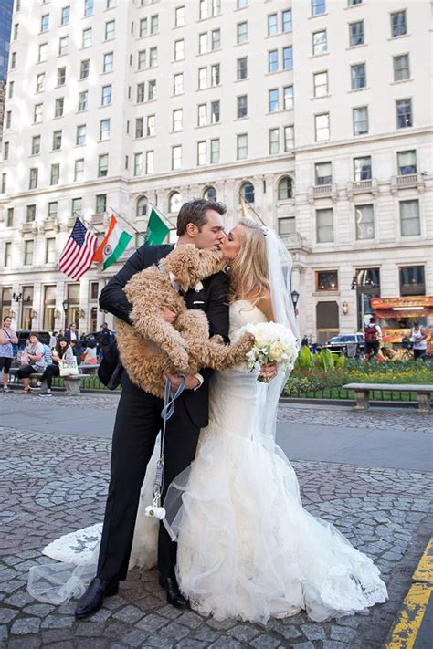 This Couple Brought Their Goldendoodle To Their Wedding