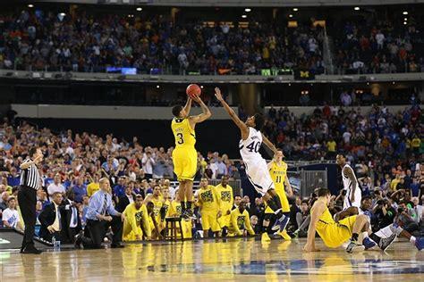michigan basketball miracle comeback stuns kansas
