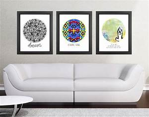 11x14 Set Of 3 Discounted Poster Prints - Circle Quotes on