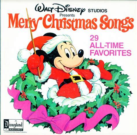 Disney Merry Christmas Songs 29 Alltime Favorites