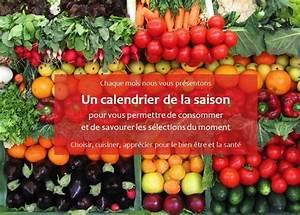 Calendrier Fruits Et Légumes De Saison : calendrier des saisons fruits et l gumes ~ Nature-et-papiers.com Idées de Décoration