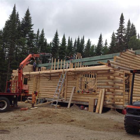 construction de chalet en bois dans la r 233 gion de qu 233 bec