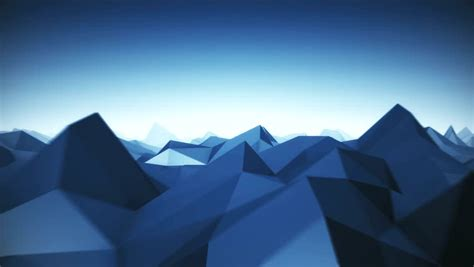 blue  poly background loop stock footage video