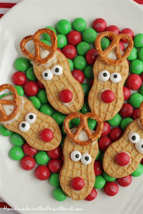 nutter butter reindeers reindeer cookies christmas