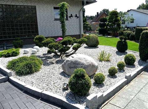 Moderner Garten Mit Steinen by Gartengestaltung Ideen Mit Steinen