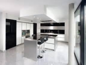 modern white kitchen ideas modern black and white kitchen designs from kitcheconcept digsdigs