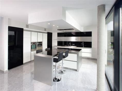 black and white kitchens ideas new modern black and white kitchen designs from kitcheconcept digsdigs