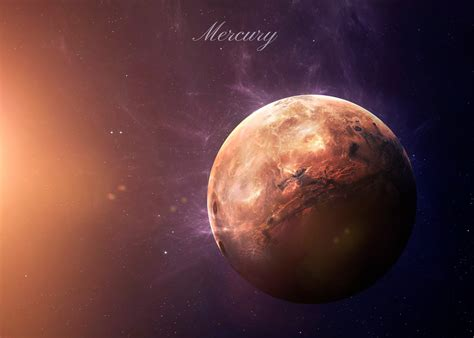 The Mercury From Space Showing All They Beauty By