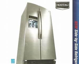 Appliance Information  Maytag Side