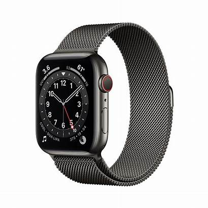 Apple Graphite Face Band Milanese Gmt Case