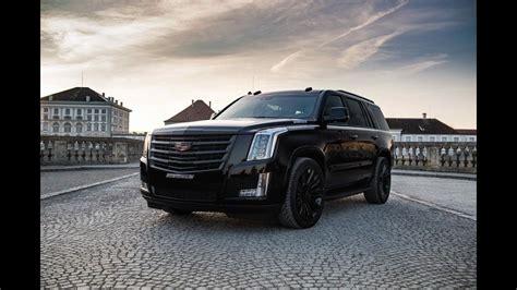 Geigercars Cadillac Escalade Black Edition 2018
