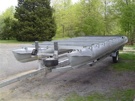 Pontoon Boat Repair by Pgf Welding Fabrication Gallery Marine