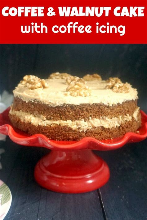 Mary berry makes it easy with this delicious coffee and walnut cake. Coffee and Walnut Cake | Coffee and walnut cake, Walnut cake, Mary berry