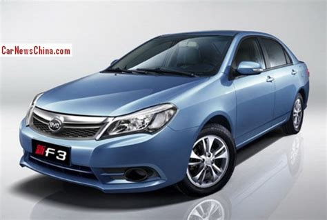 Official Photos Of The Facelifted Byd F3 Carnewschinacom