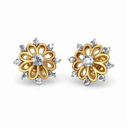 Earrings Gold India Indian Jewellery Designs Shopping