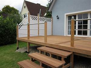 Terrasse Günstig Bauen : gel nder terrasse holz qw09 hitoiro ~ Michelbontemps.com Haus und Dekorationen