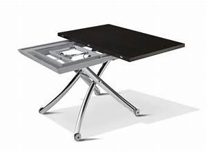 Table Basse Relevable Pas Cher : table basse relevable modulable pas cher ~ Teatrodelosmanantiales.com Idées de Décoration
