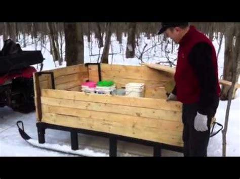 fabriquer chaise en bois traîneau à bois et autres