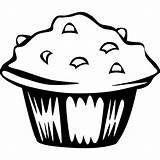 Svg Blueberry Muffin Clipart Clip Views sketch template