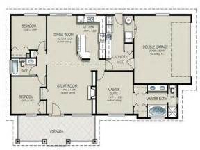2 bedroom ranch house plans two bedroom two bathroom apartment 4 bedroom 2 bath house