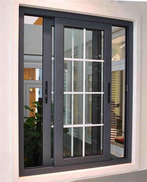 contoh pintu minimalis kaca geser eksterior rumah