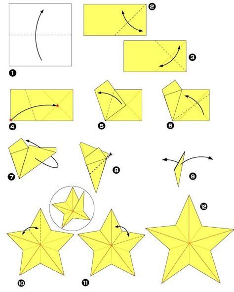 origami facile de noel plus de 25 id 233 es uniques dans la cat 233 gorie 201 toiles en origami sur 201 toile 224 5