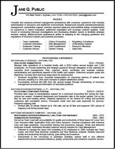resume exles healthcare administration healthcare administrator resume sle the resume clinic