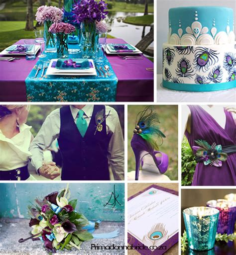Angee's Eventions Peacock Themed Wedding