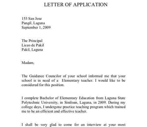 letter of application how to end a letter of application